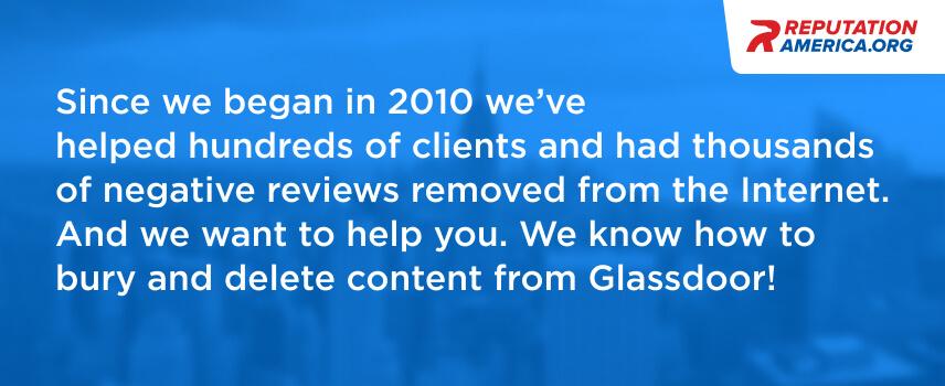 delete Glassdoor