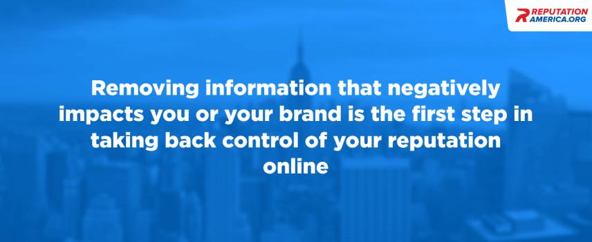 Internet Defamation Removal: Restoring your online reputation