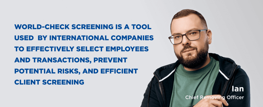 World-Check Screening
