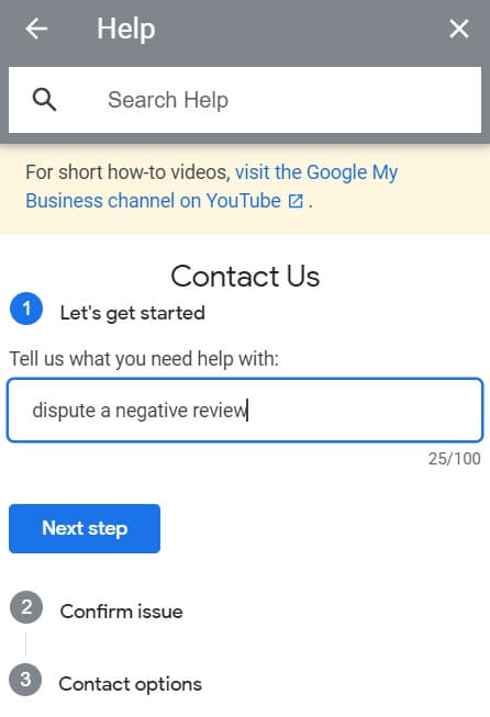 How can you on Google Maps delete reviews?